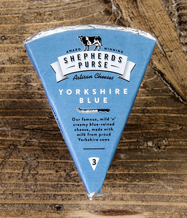 shepherds purse yorkshire blue cheese