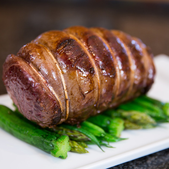 venison roasting joint