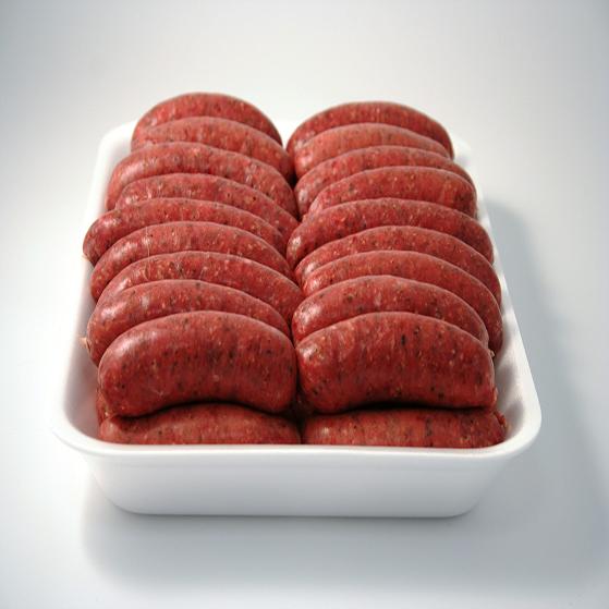 wild venison sausages