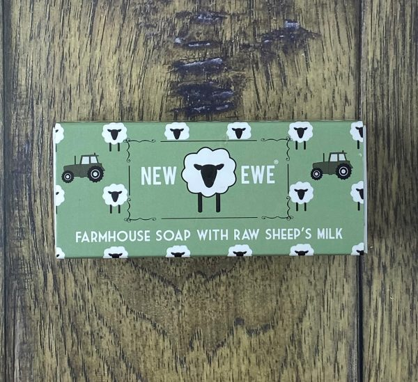 new ewe sheeps milk soap benzoin