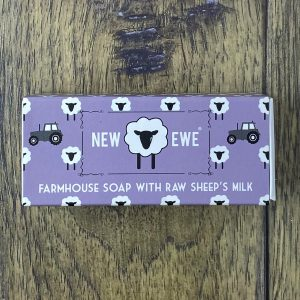 new ewe sheeps milk soap lavender