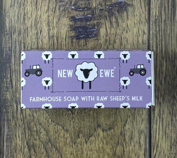 new ewe sheeps milk soap lavender