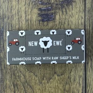 new ewe sheeps milk soap natural