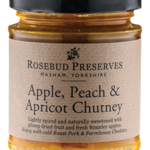 Apple Peach and Apricot Chutney