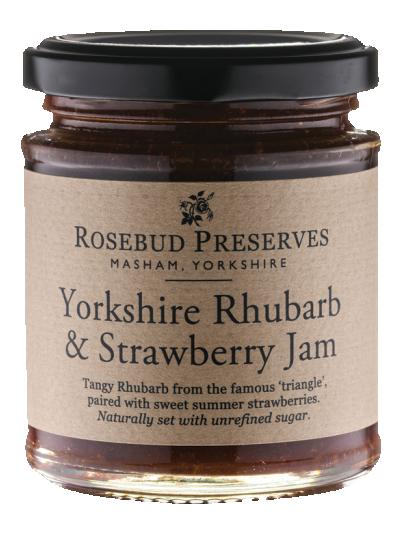 Yorkshire Rhubarb & Strawberry Jam