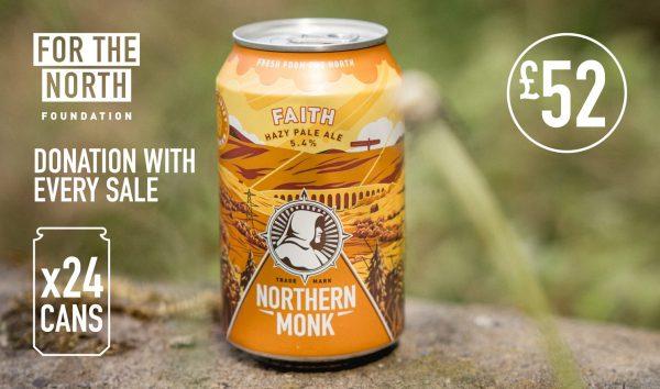 Northern Monk Faith Hazy Pale Ale