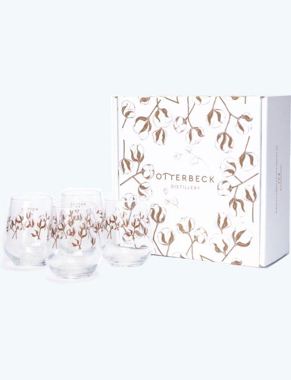 Cotton Gin Glasses Gift Box