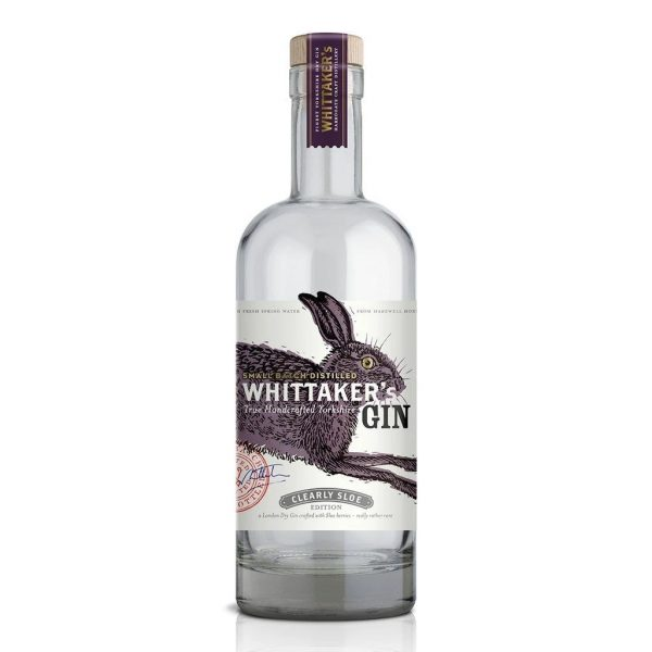 whittakers clearly sloe yorkshire gin