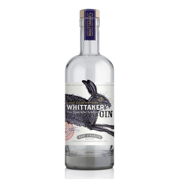 whittakers navy strength yorkshire gin