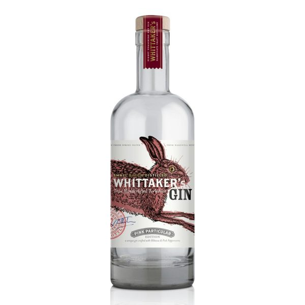 whittakers pink particular yorkshire gin