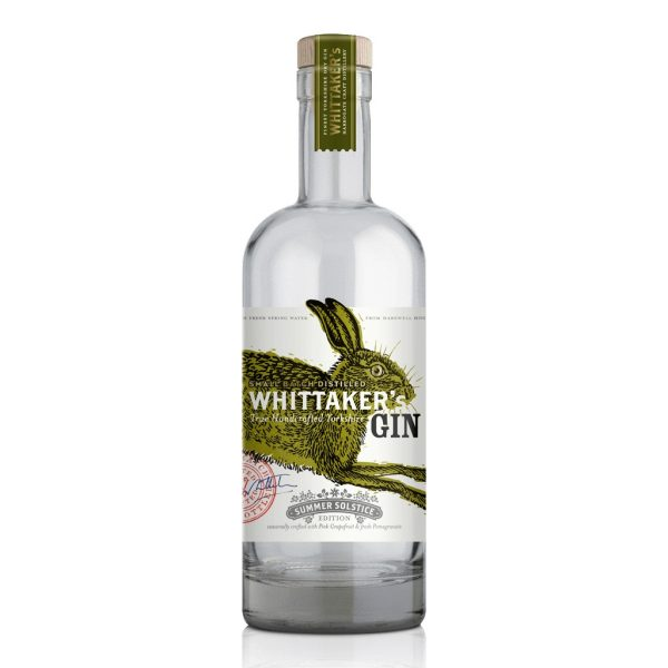 whittakers summer solstice yorkshire gin