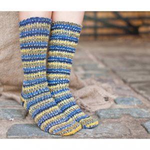socks blue tit