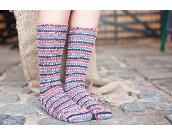 Yorkshire Wool Socks - Bullfinch