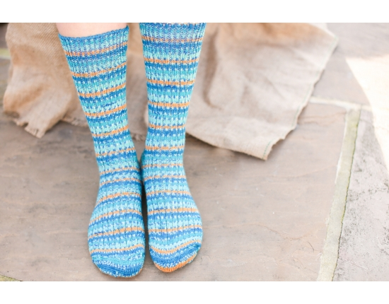 Yorkshire Wool Socks – Kingfisher
