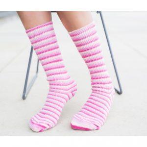 Yorkshire Wool Socks – Pink Flamingo