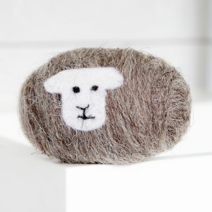 herdwick sheep felted soap